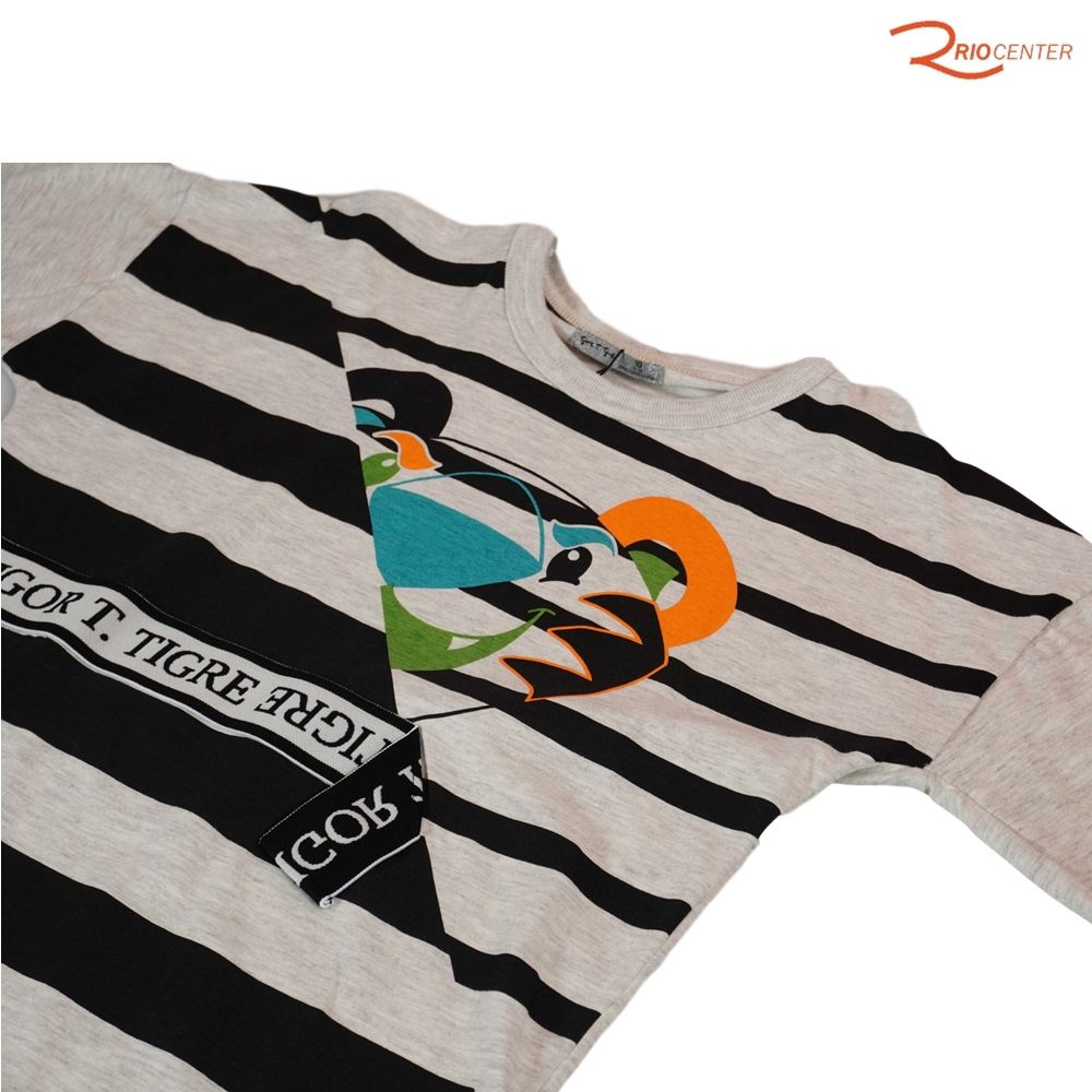 Camiseta Tigor Listrada