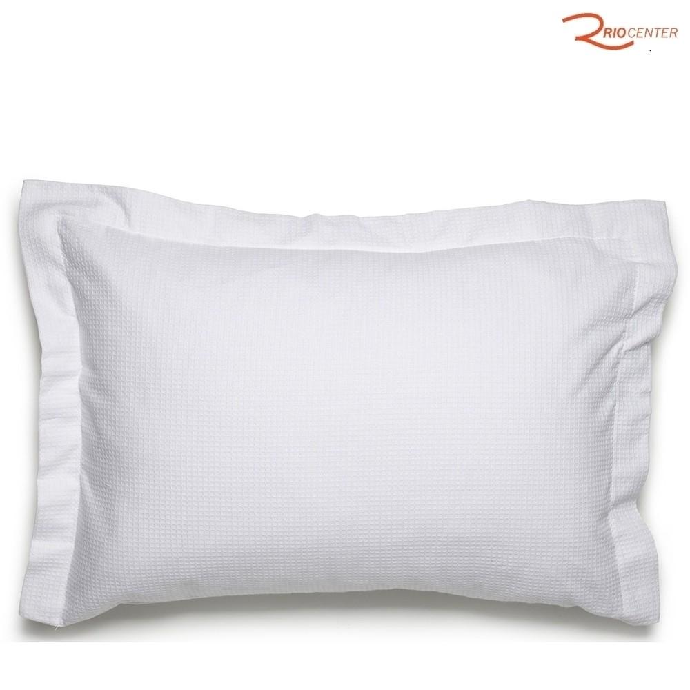 Capa Travesseiro Dohler Liso Linha Piquet Branco