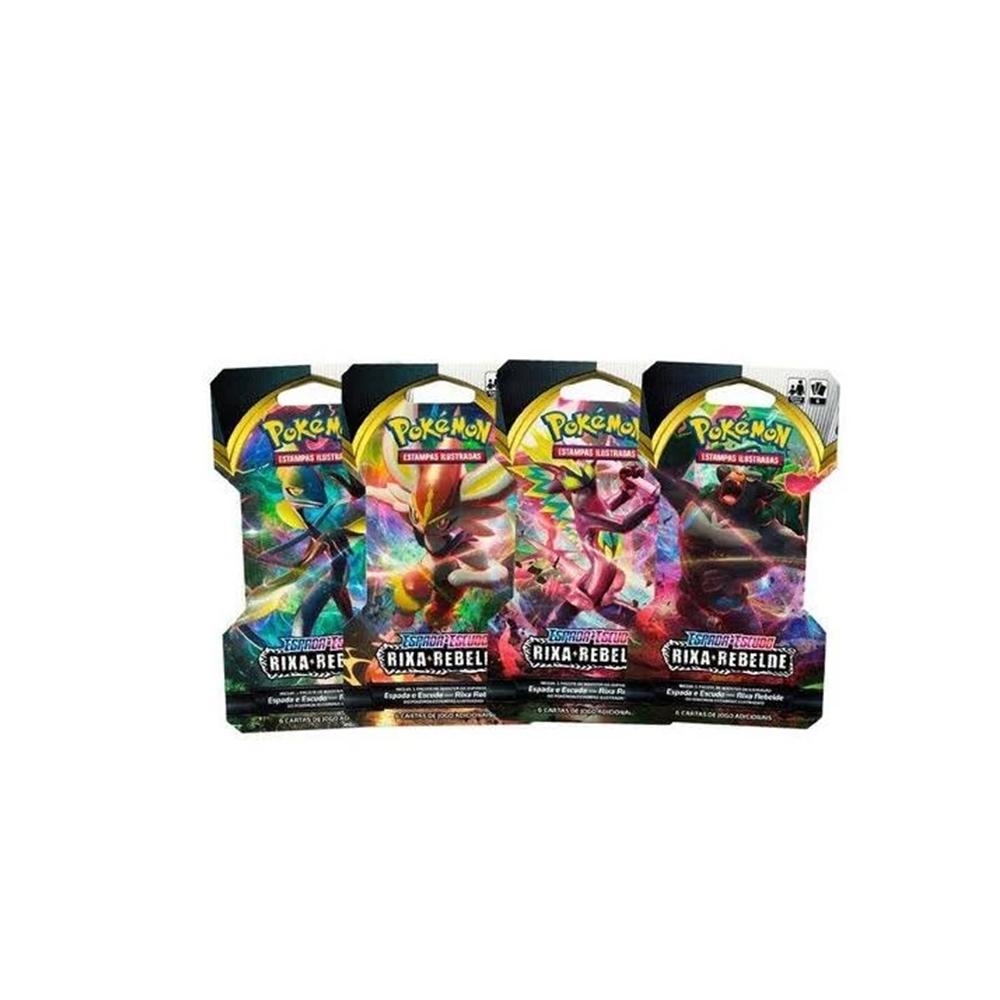 Cartas Pokémon Espada e Escudo Rixa Rebelde +4a