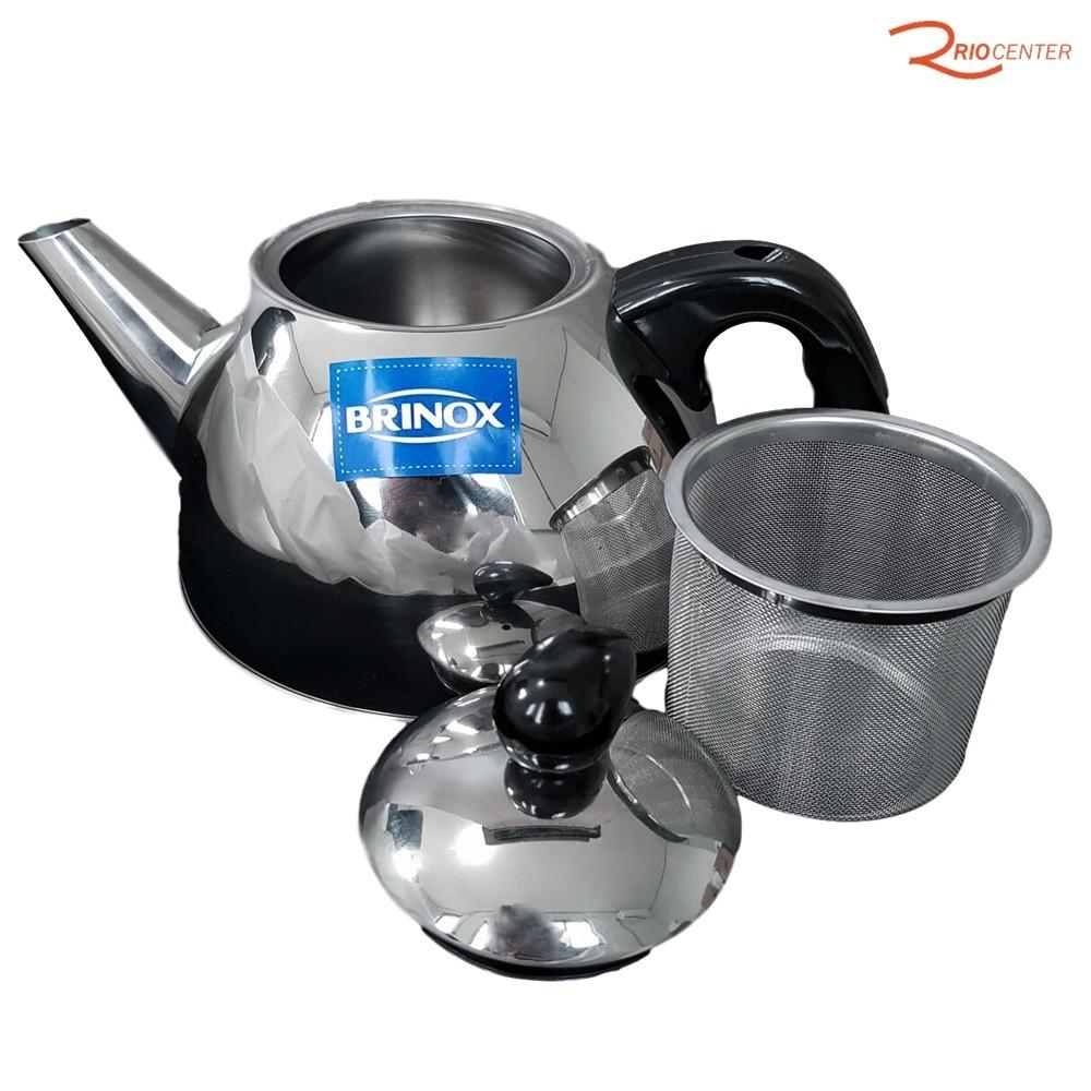 Chaleira Brinox Para Chá Com Coador Verona de 1 Litro