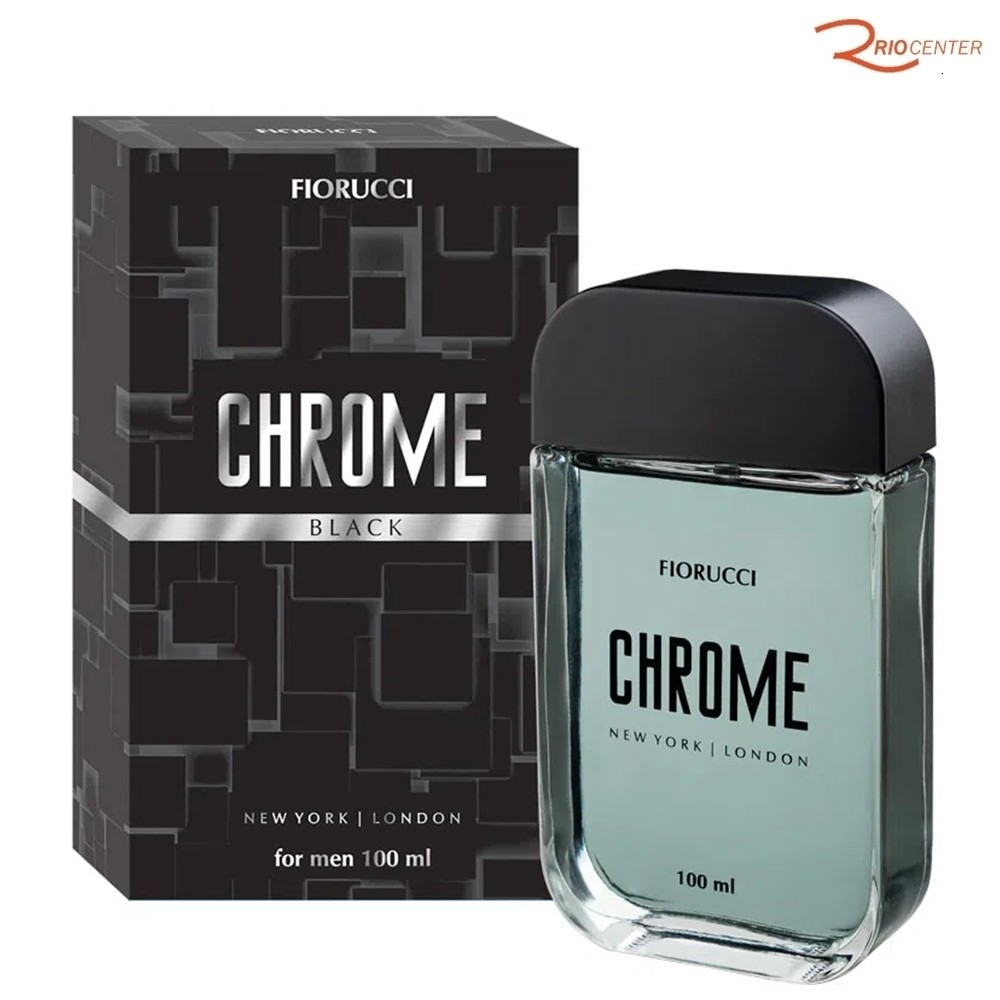 Chrome Black Fiorucci Deo Colônia - 100ml