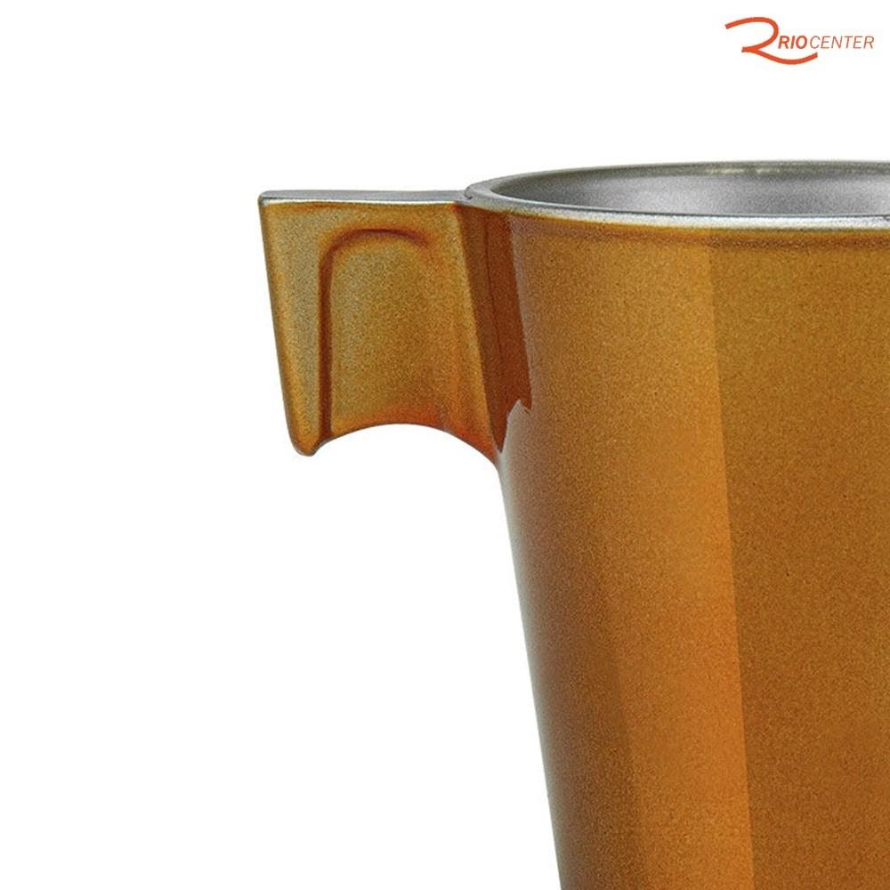 Conjunto De Xícaras Para Café Expresso Le Cook Marcamix Chic Caramel - 80ml