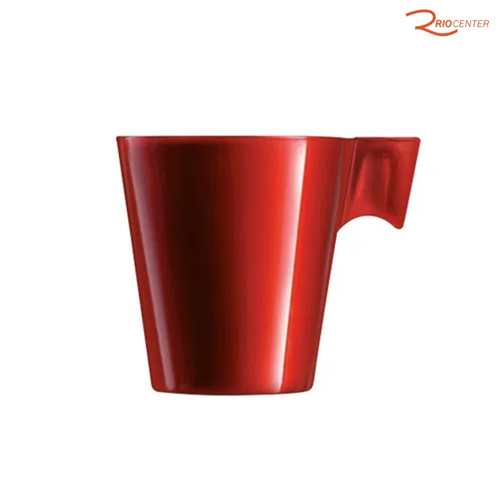 Conjunto De Xícaras Para Café Expresso Le Cook Marcamix Red Berry - 80ml
