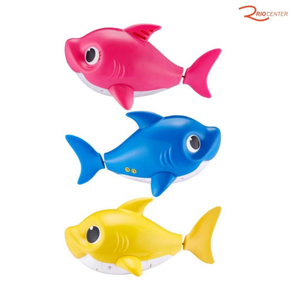 Brinquedo Candide Robo Alive Baby Shark Azul +18m