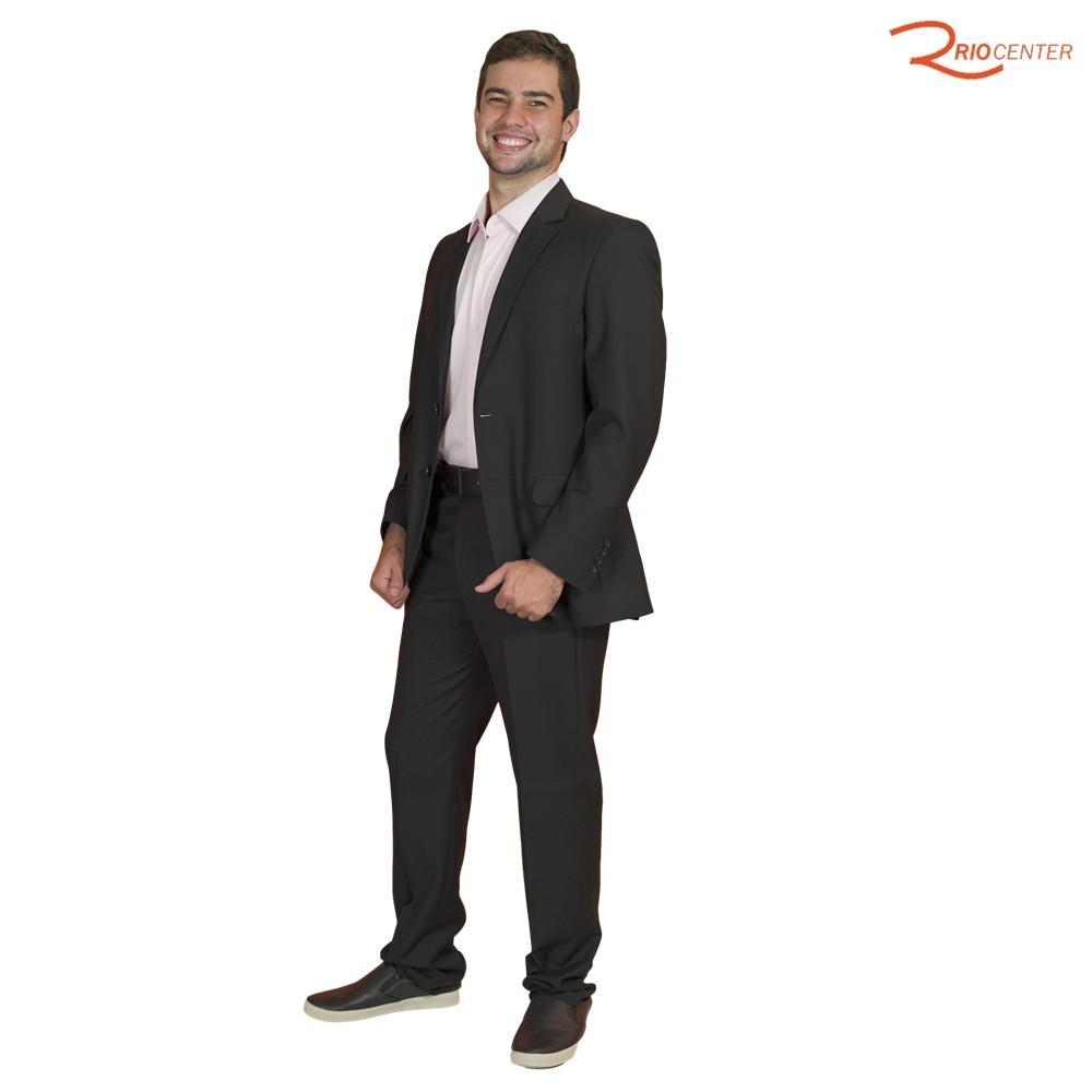 Costume Aramis Preto 2BT Slim