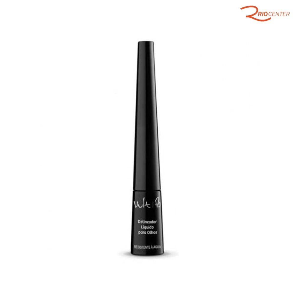 Delineador Liquido Para os Olhos Preto Vult - 2,5ml