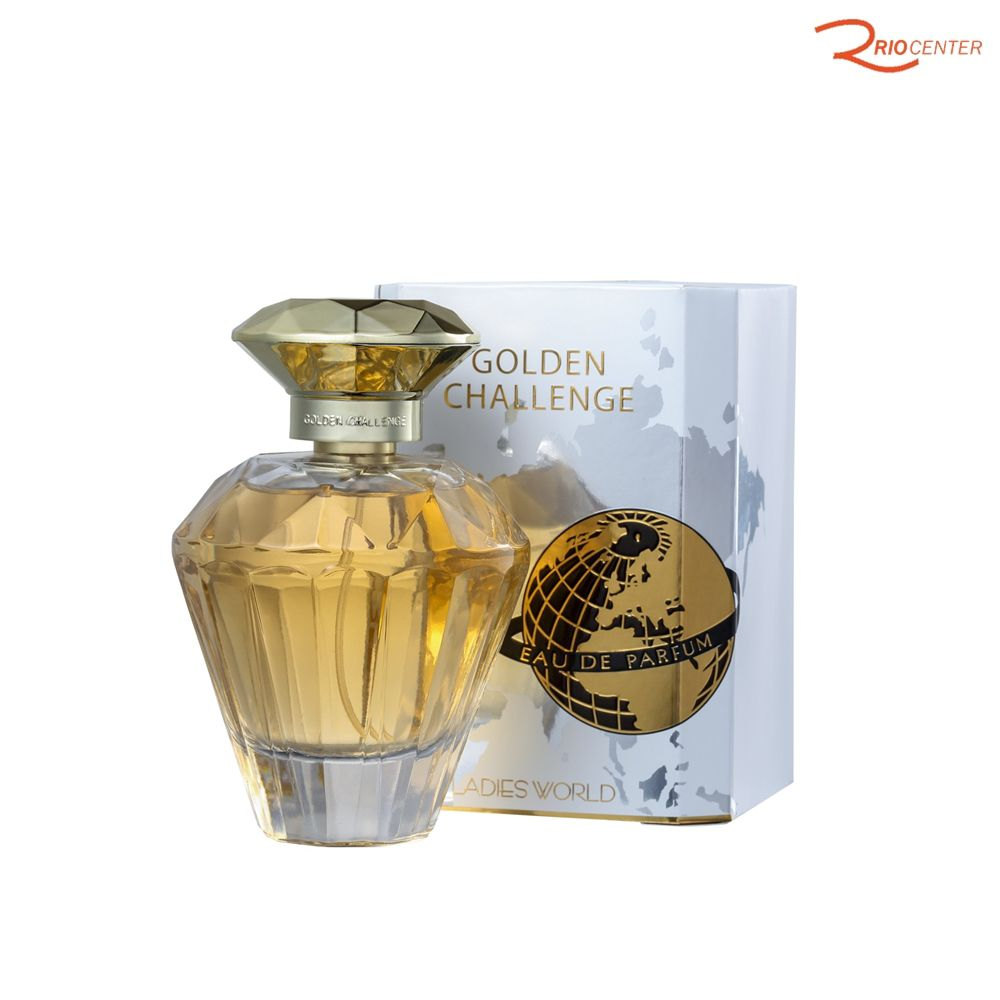 Eau de Parfum Importado Coscentra Golden Challenger Ladies World
