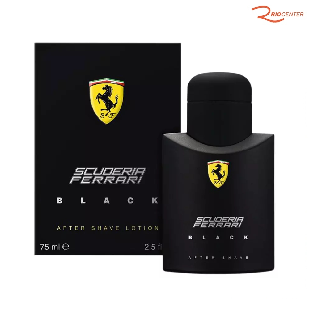 Eau de Toilette Importado Ferrari Black - 75ml