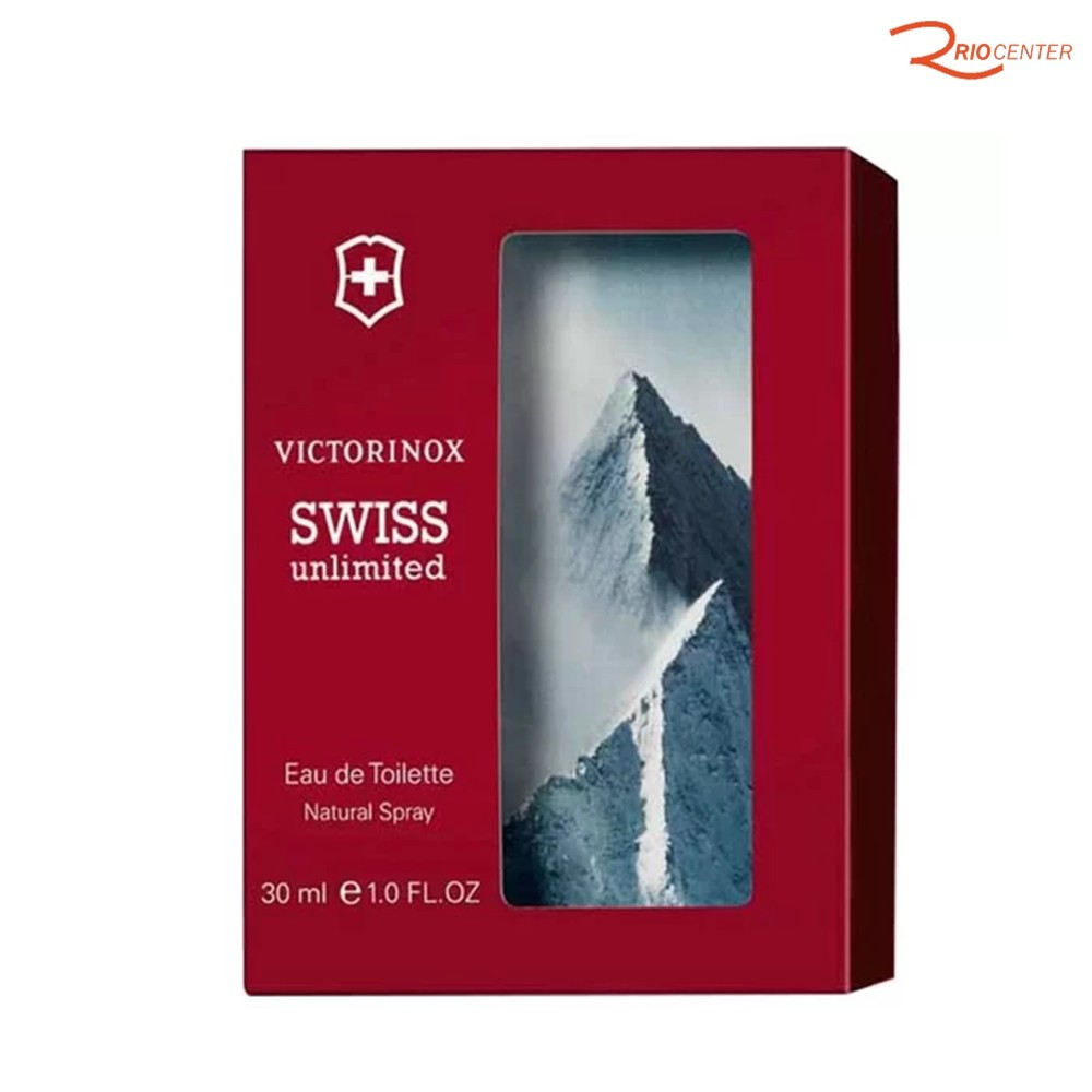 Eau de Toilette Natural Spray Importado Swiss Unlimited Victorinox - 30ml