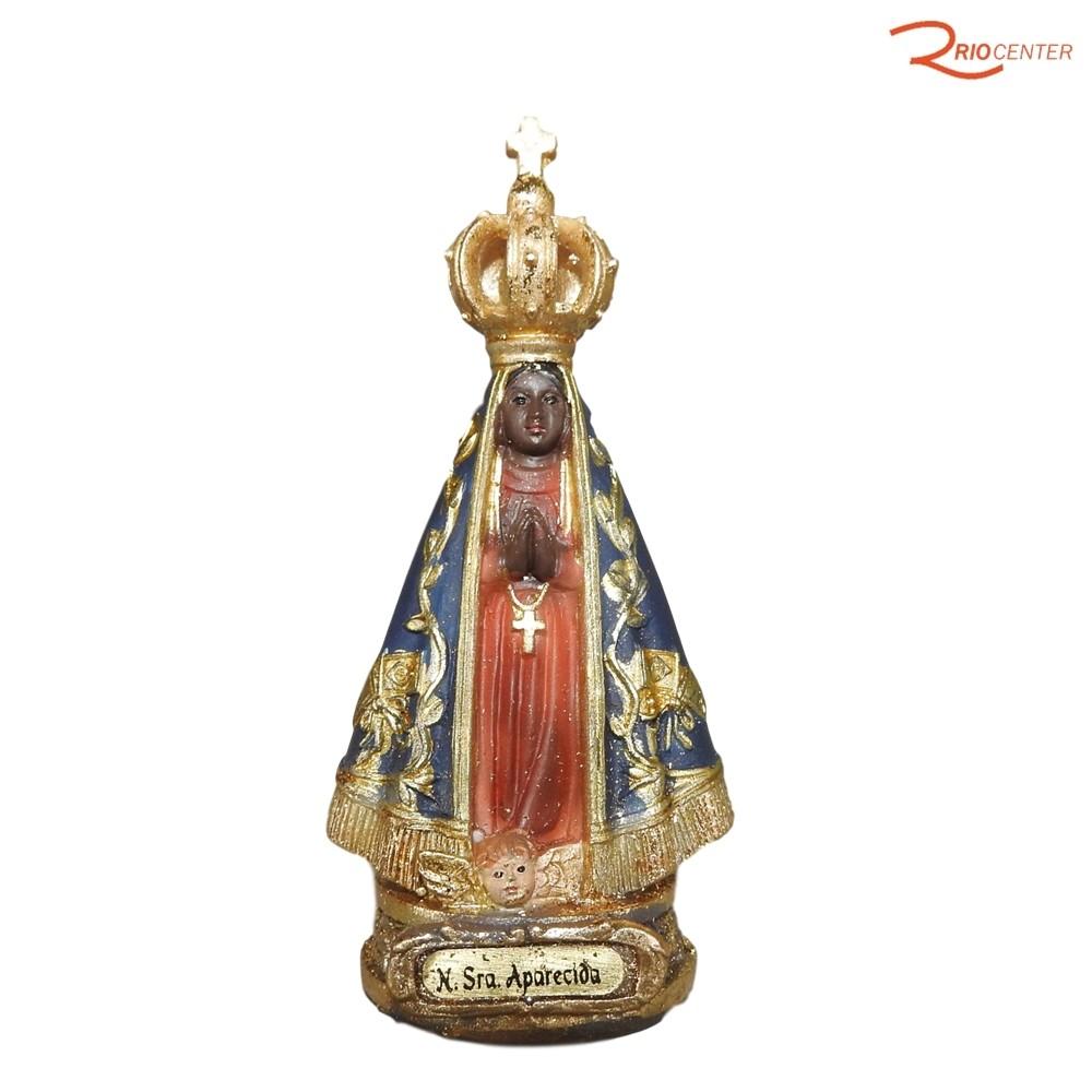 Escultura Carvalho Nossa Senhora Aparecisa 9 cm