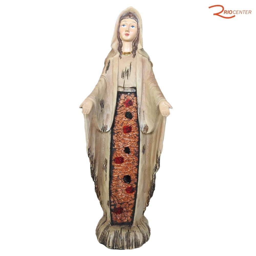 Escultura Carvalho Nossa Senhora das Graças 30 cm
