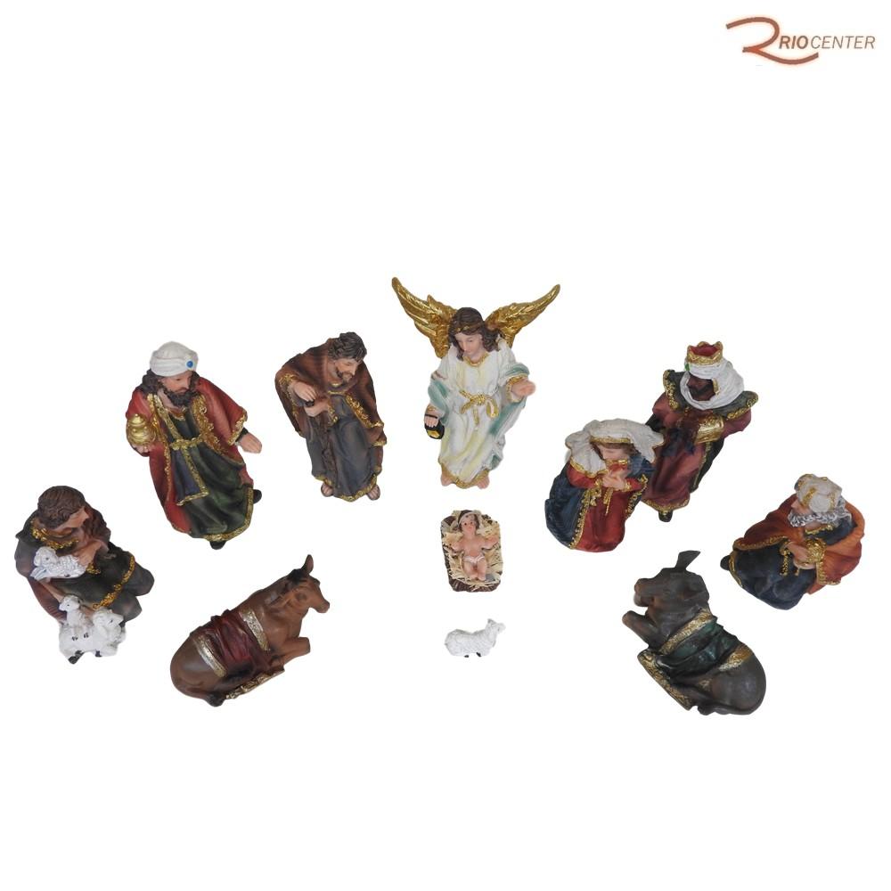 Escultura Iracema Presépio 11 Peças 15cm