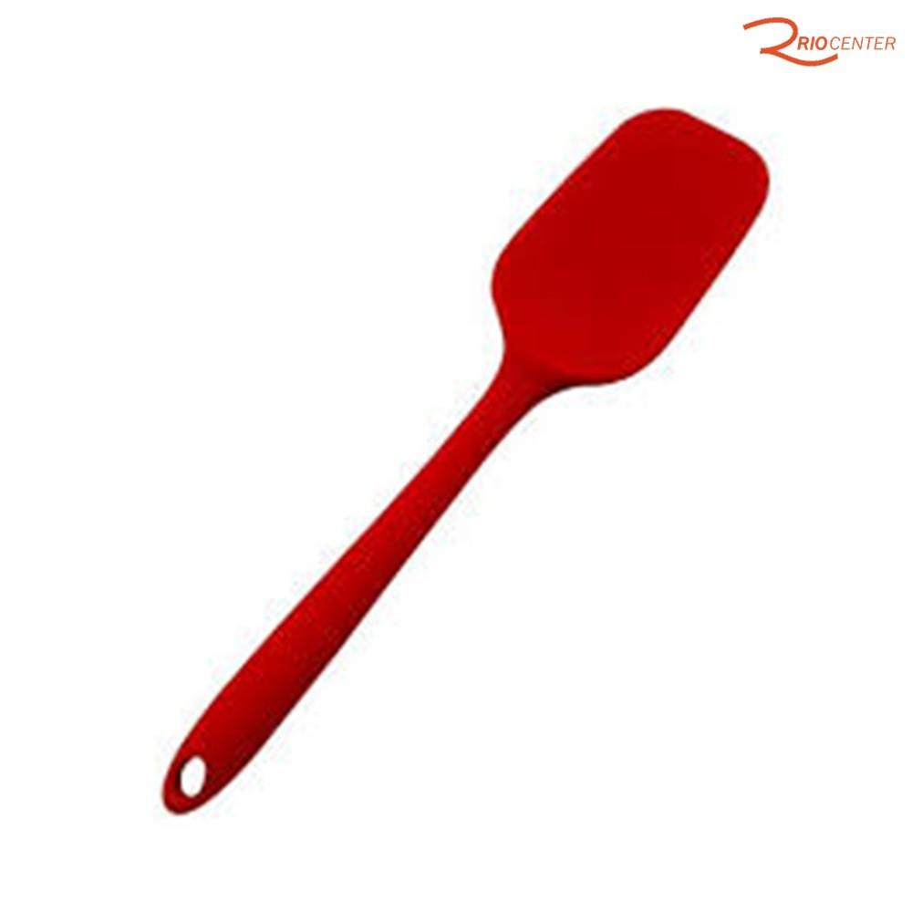 Espátula De Silicone HomeCook Retangular 27 cm Niazitex Vermelha.