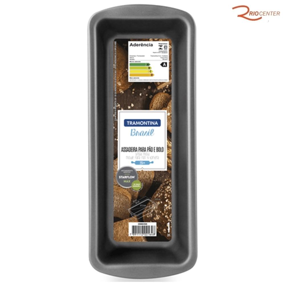 Forma para Pão e Bolo Tramontina Alumínio Antiaderente 1,4L