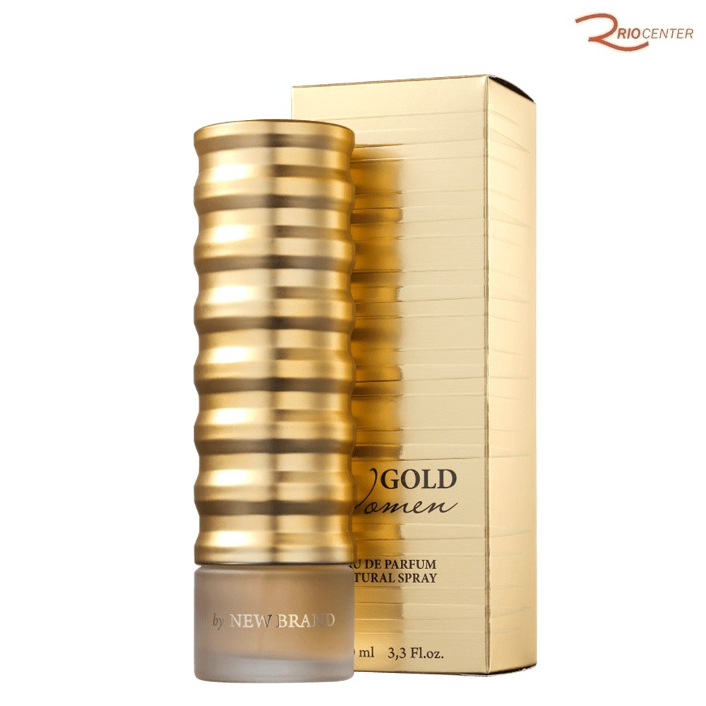 Gold Women New Brand Eau de Parfum 100ml