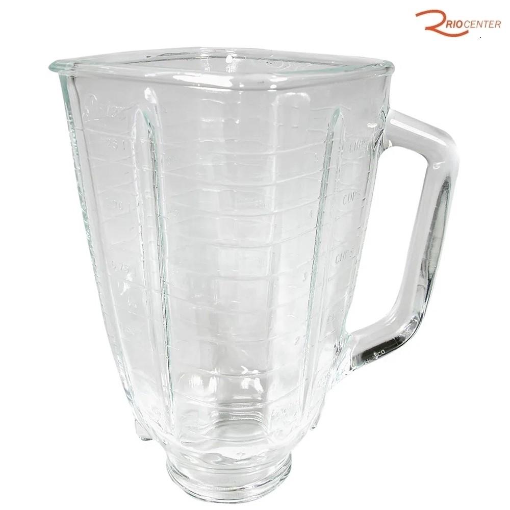 Jarra De Liquidificador Oster Vidro Clássico 1,25l