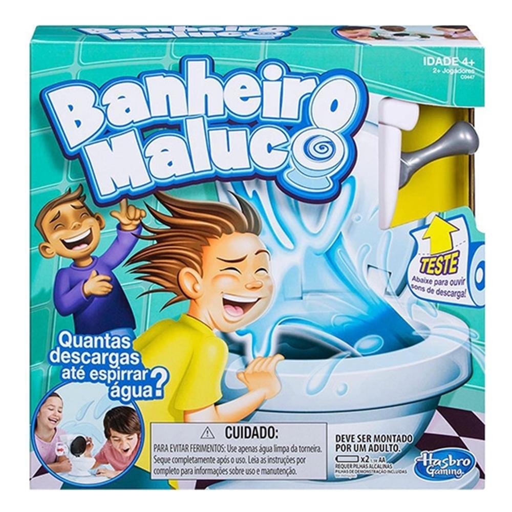 Jogo Banheiro Maluco Hasbro +4a