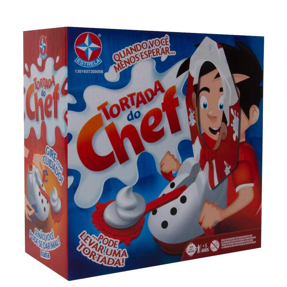 Jogo Tortada Do Chef Estrela +5a