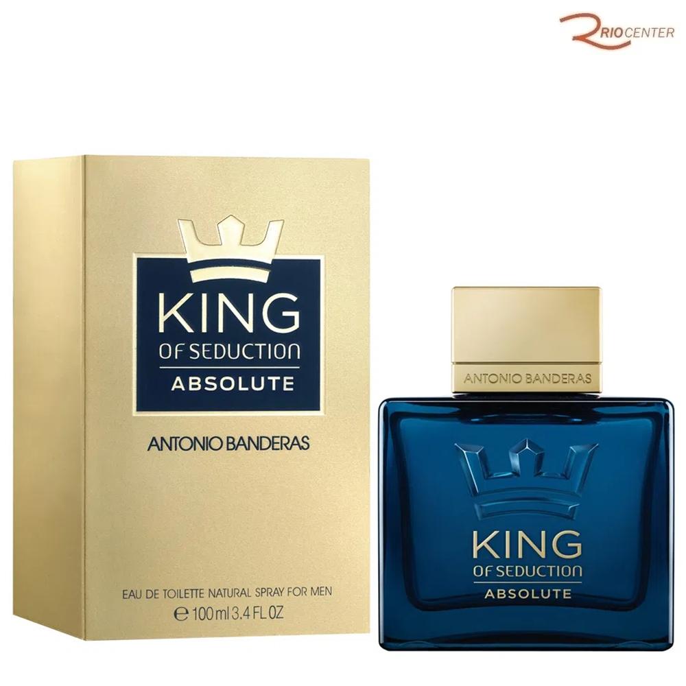 King of Seduction Absolute Antonio Banderas Eau de Toilette - 100ml