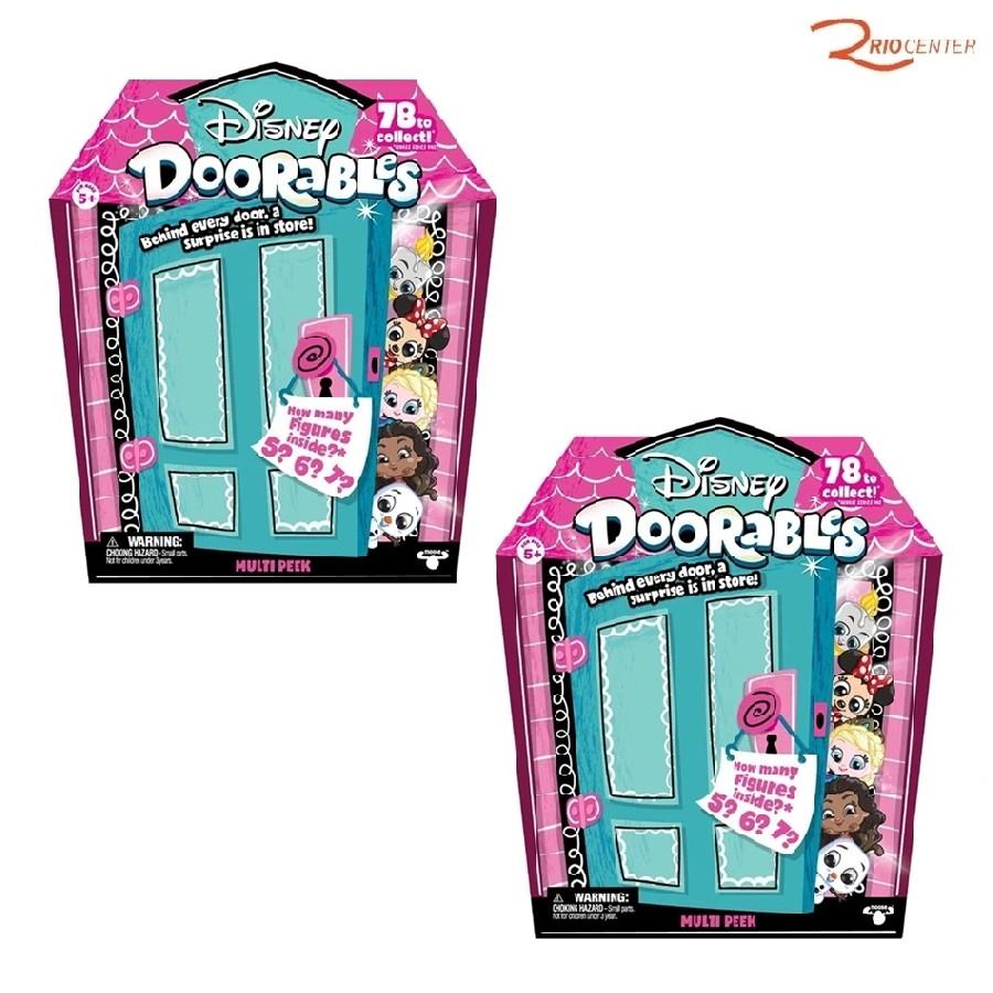 Kit Com 2 Brinquedo Dtc Disney Doorables Mini Kit +3a