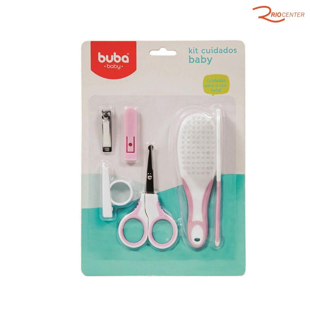 Kit Cuidados Buba Baby Rosa