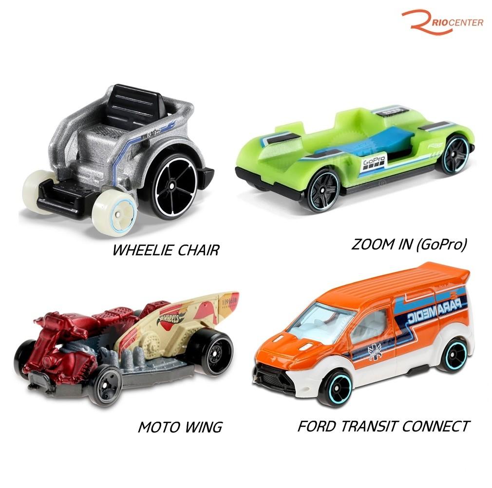 Kit de Carrinhos Hotwheels Mattel +3a