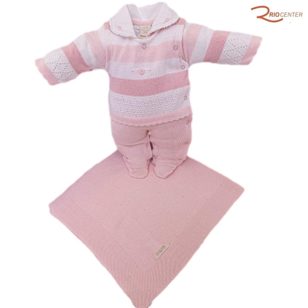 Kit Saída de Maternidade Milly Baby Rosa