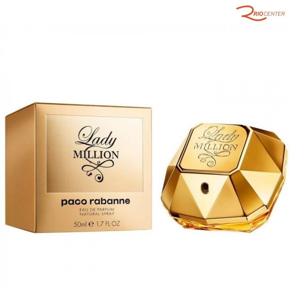 Eau de Parfum Lady Million Paco Rabanne - 50ml
