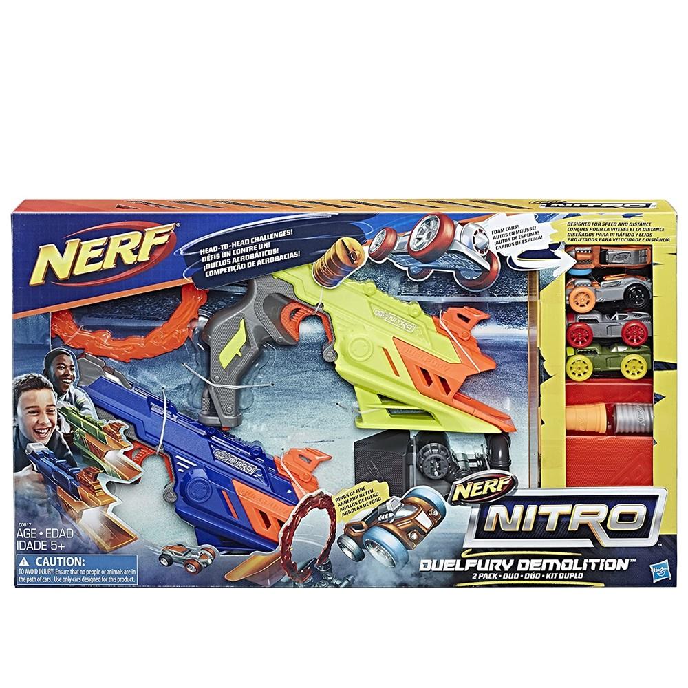 Lançador de Carro Nerf Nitro Duelfury Hasbro +5a