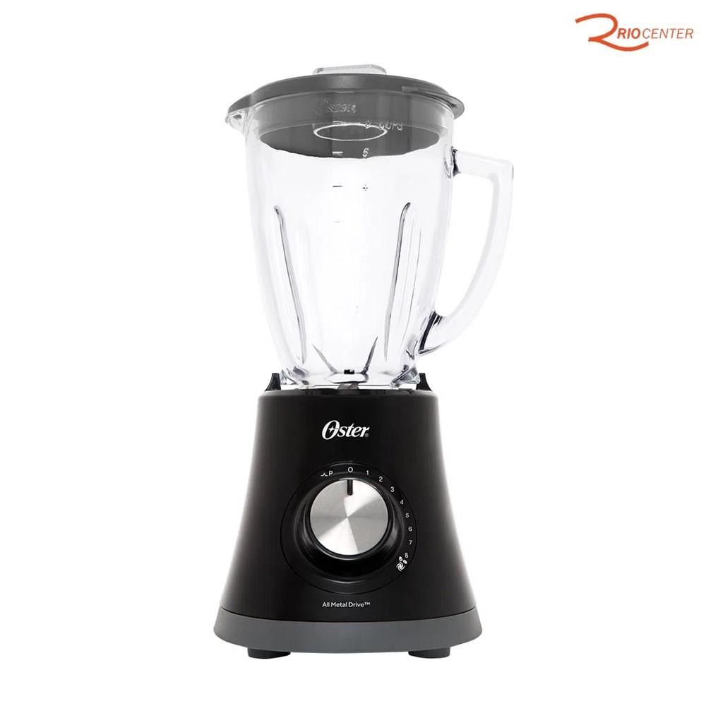 Liquidificador Super Chef Oster Preto de 8 Velocidades - 220V