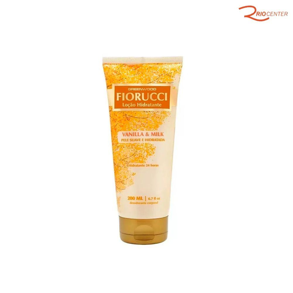 Loção Hidratante Fiorucci Vanilla&Milk - 200ml