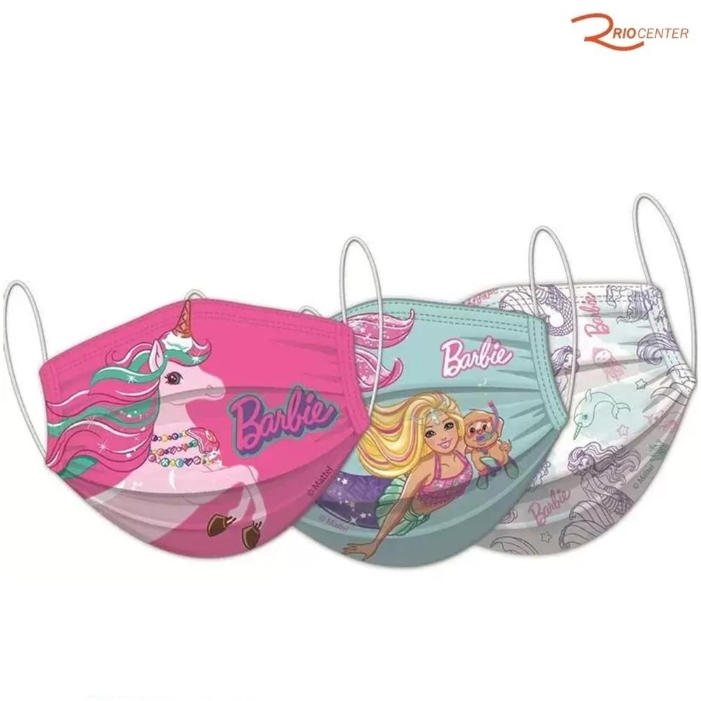 Máscara de Proteção Fun Barbie 2 peças +4a