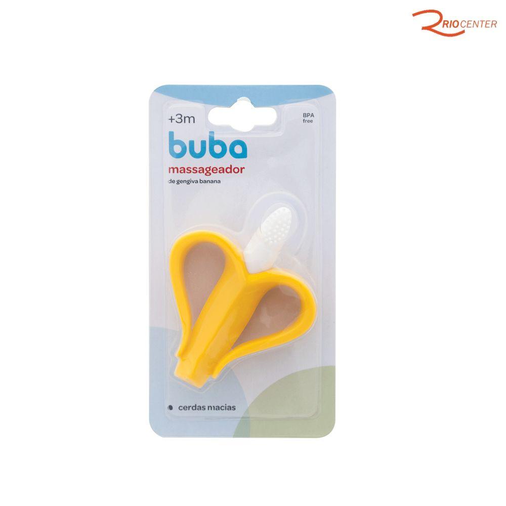 Massageador de Gengiva Banana Buba Baby