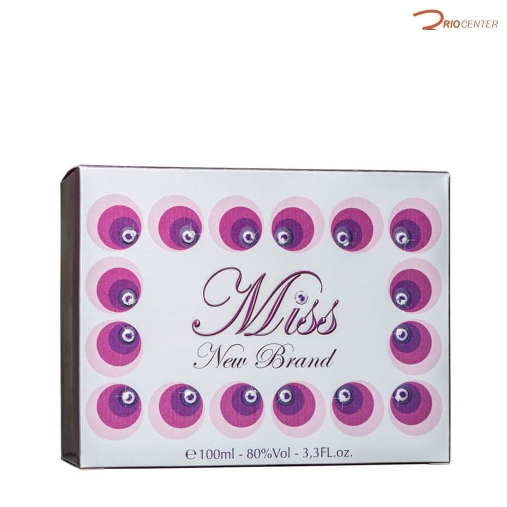 Miss New Brand Eau de Parfum 100ml