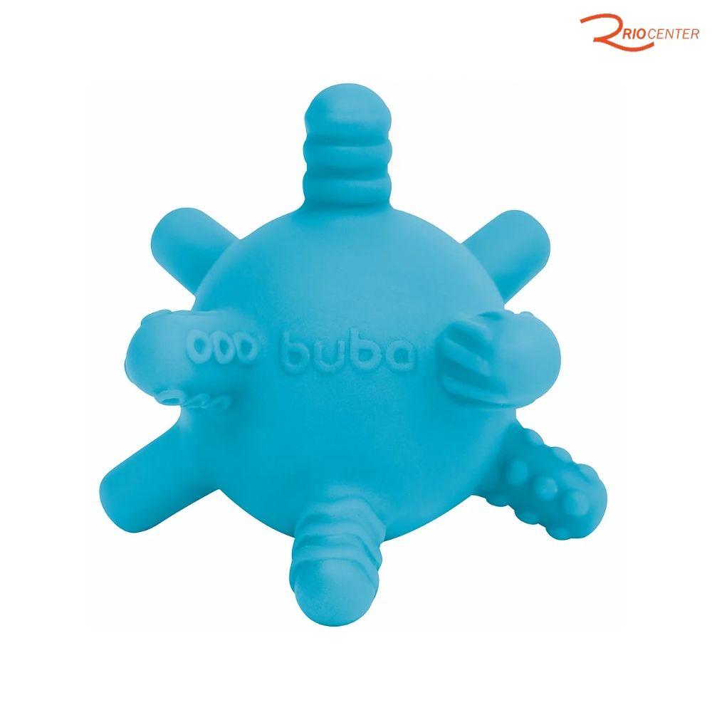 Mordedor de Silicone Bolinha Buba Baby Azul