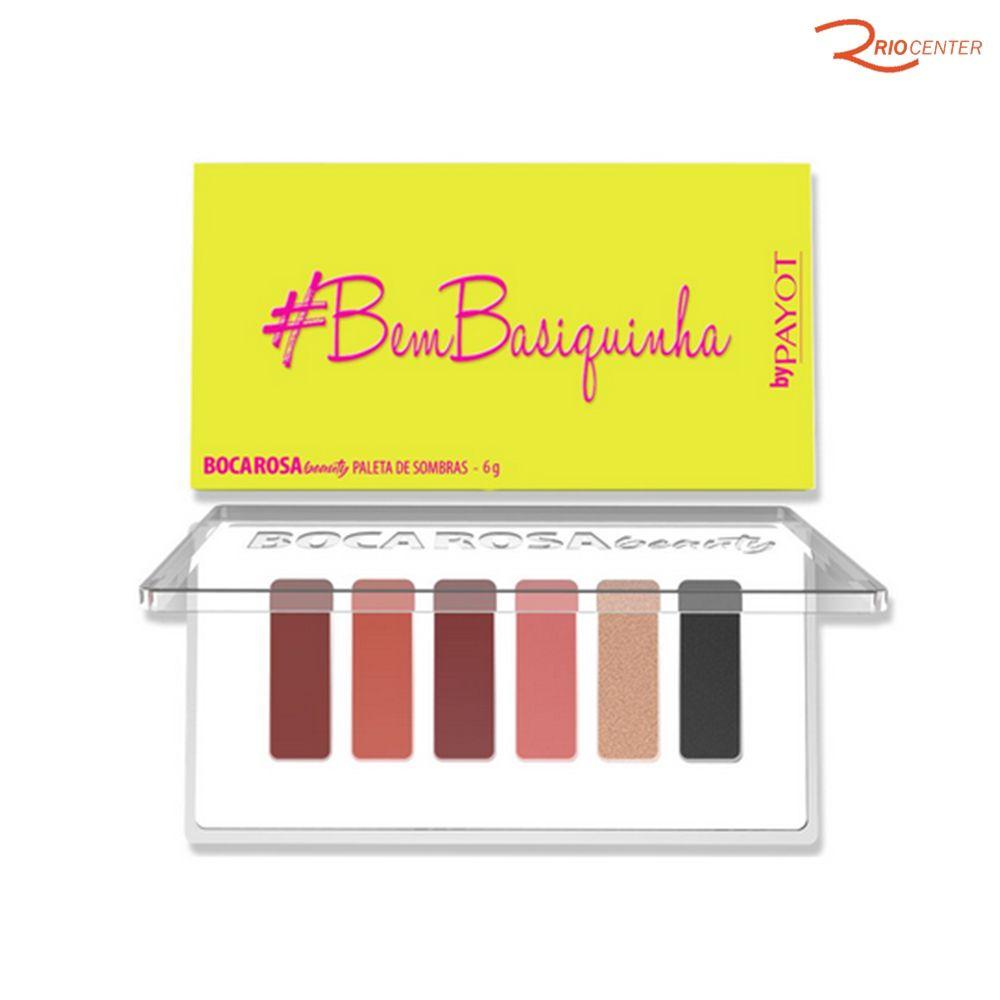 Paleta de Sombras #BemBasiquinha BocaRosa - 6g