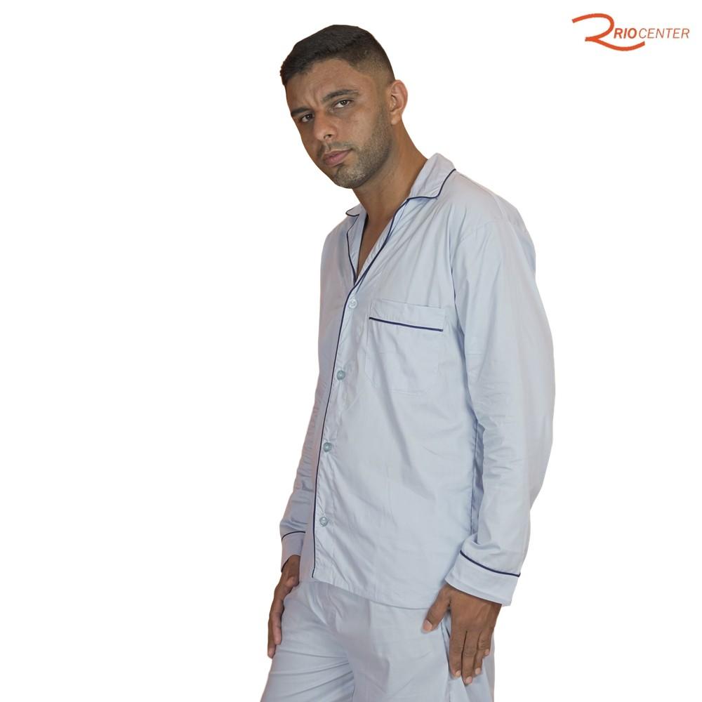 Pijama De Luzze Roma Manga Longa e Calça