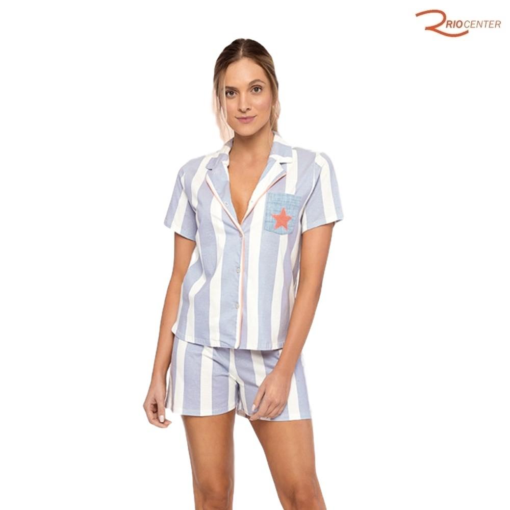 Pijama Lua Luá Aberto Meu Sonho Azul