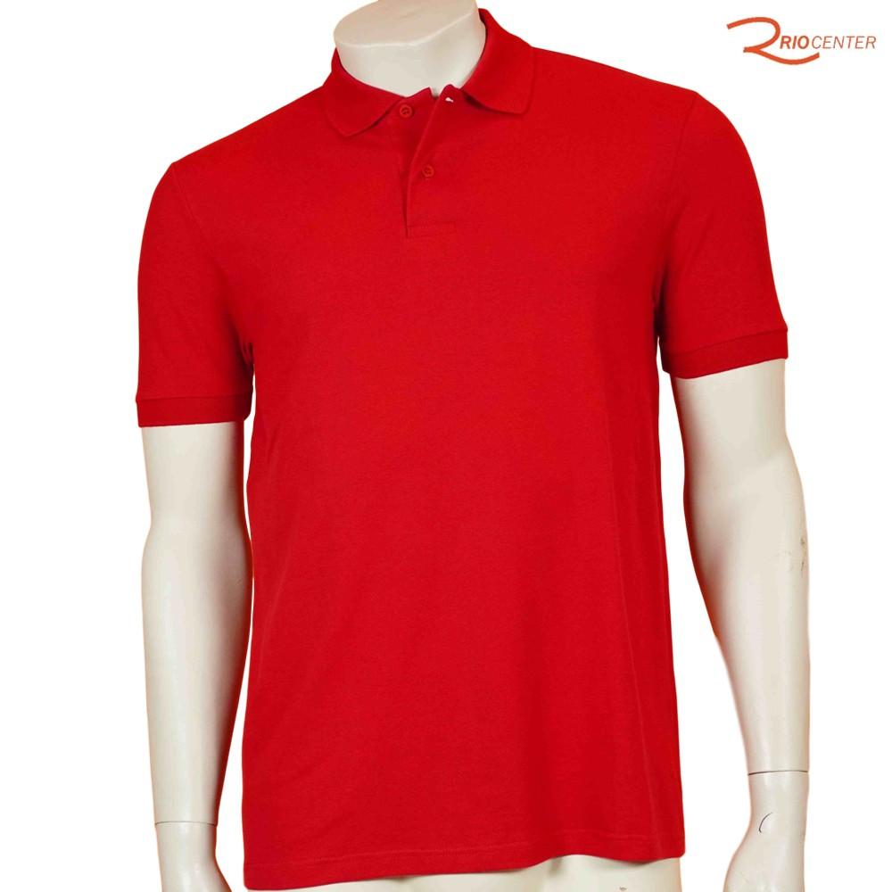 Polo Malwee Basic Sem Bolso Vermelha