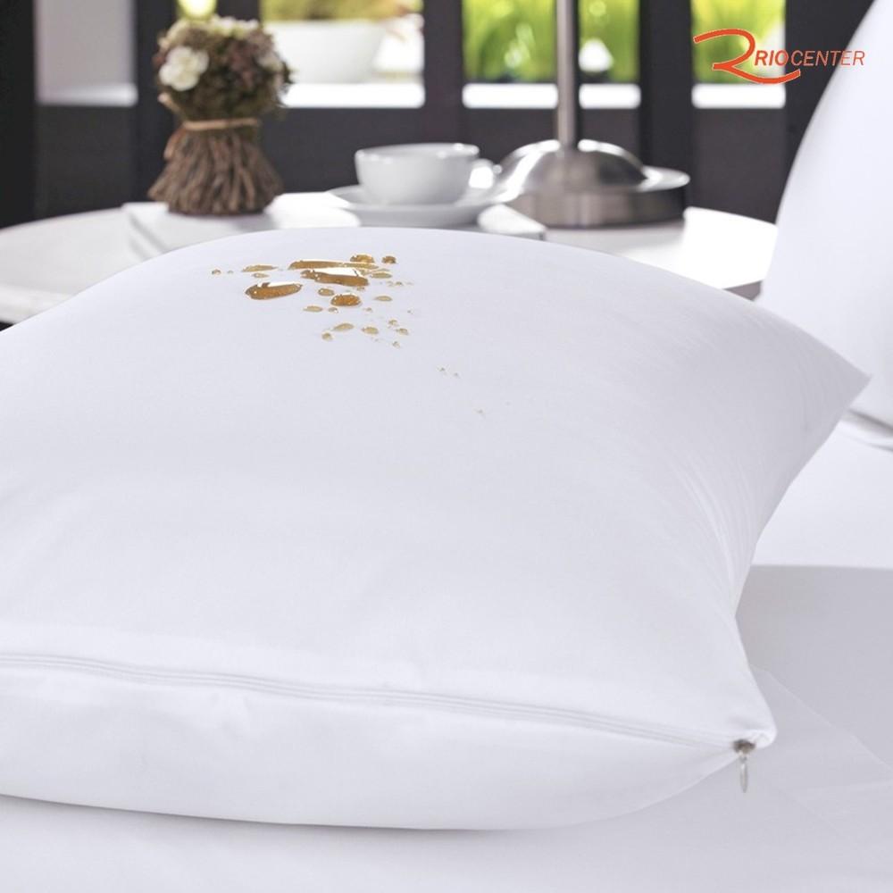 Protetor Travesseiro Altenburg Impermeável Percal 200 fios Branco