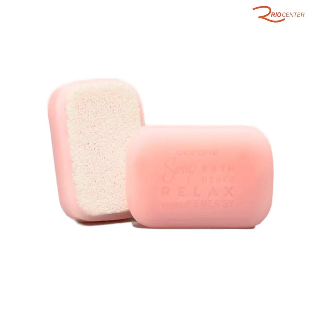 Sabonete de Rosas Com Esponja Oce'ane - 120g