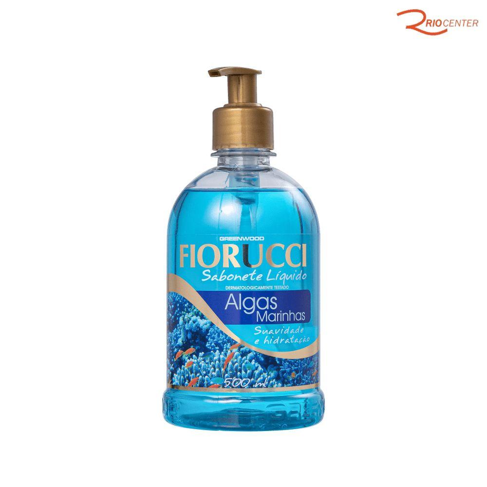 Sabonete Liquido Fiorucci Algas Marinhas - 500ml