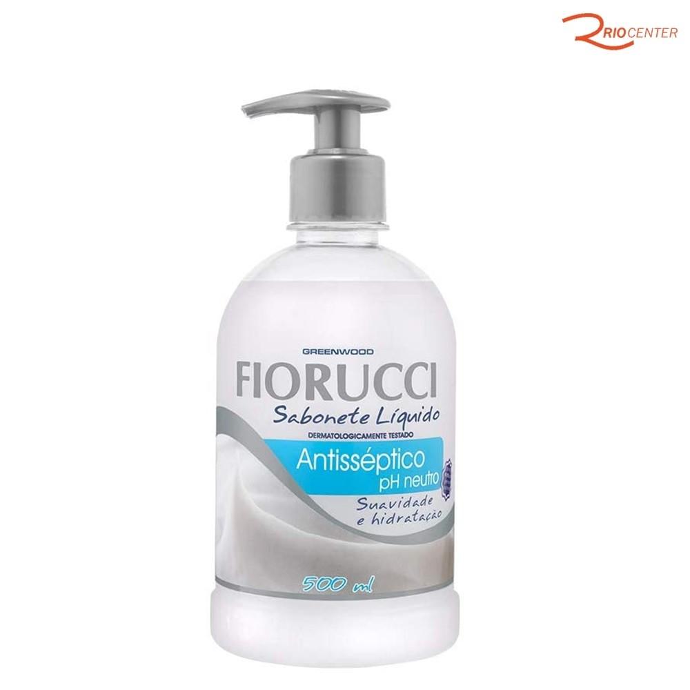 Sabonete Liquido Fiorucci Antisséptico pH Neutro - 500ml