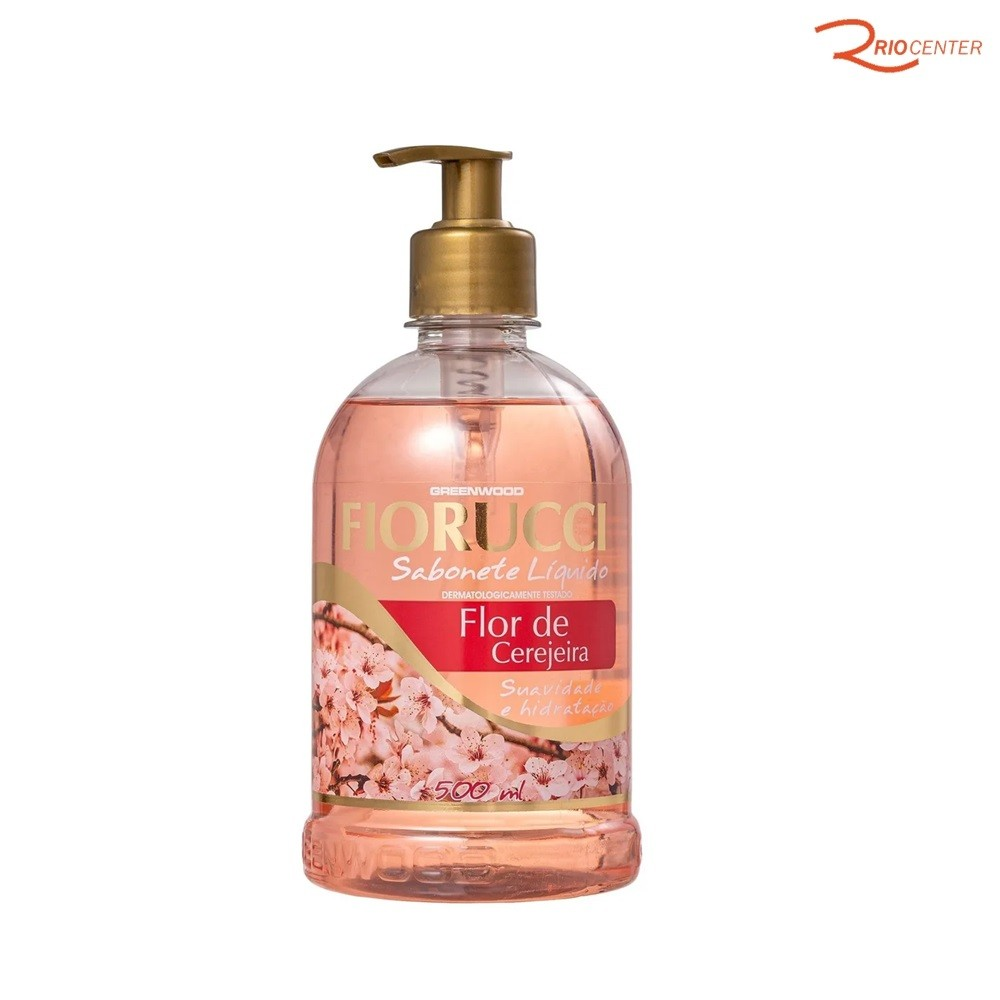 Sabonete Liquido Fiorucci Flor de Cerejeira - 500ml