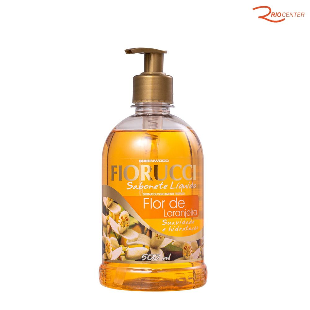 Sabonete Liquido Fiorucci Flor de Laranjeira - 500ml