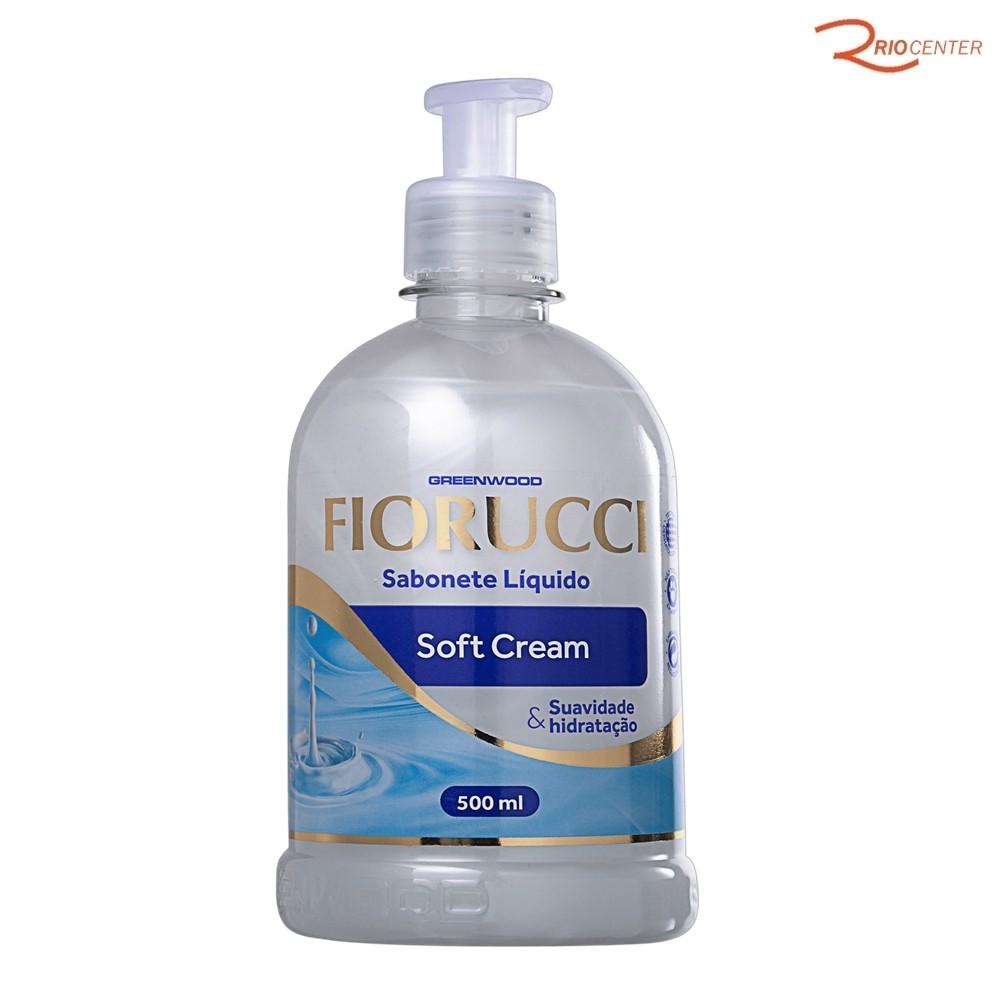 Sabonete Liquido Fiorucci Soft Cream - 500ml