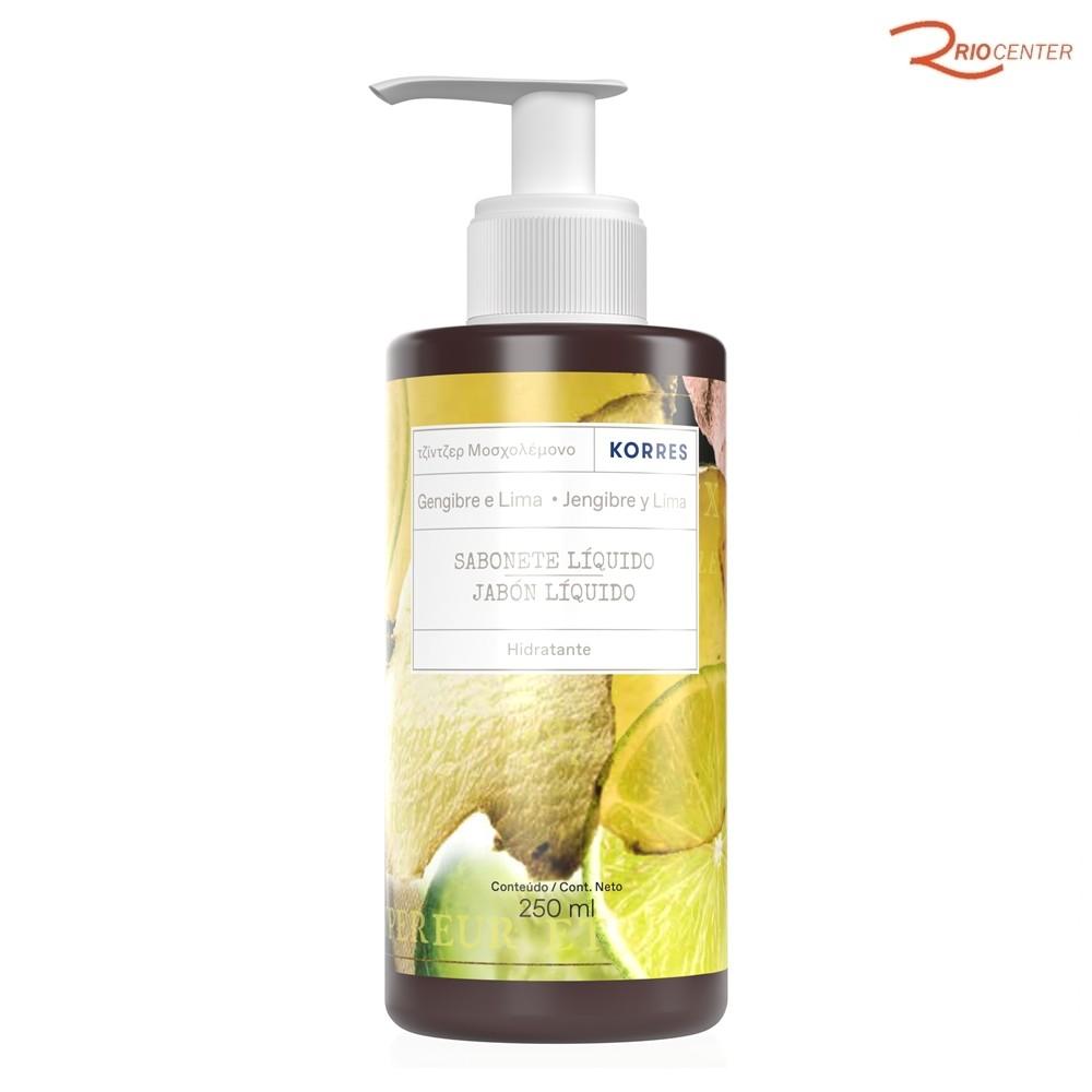 Sabonete Liquido Korres Gengibre e Limão 250ml