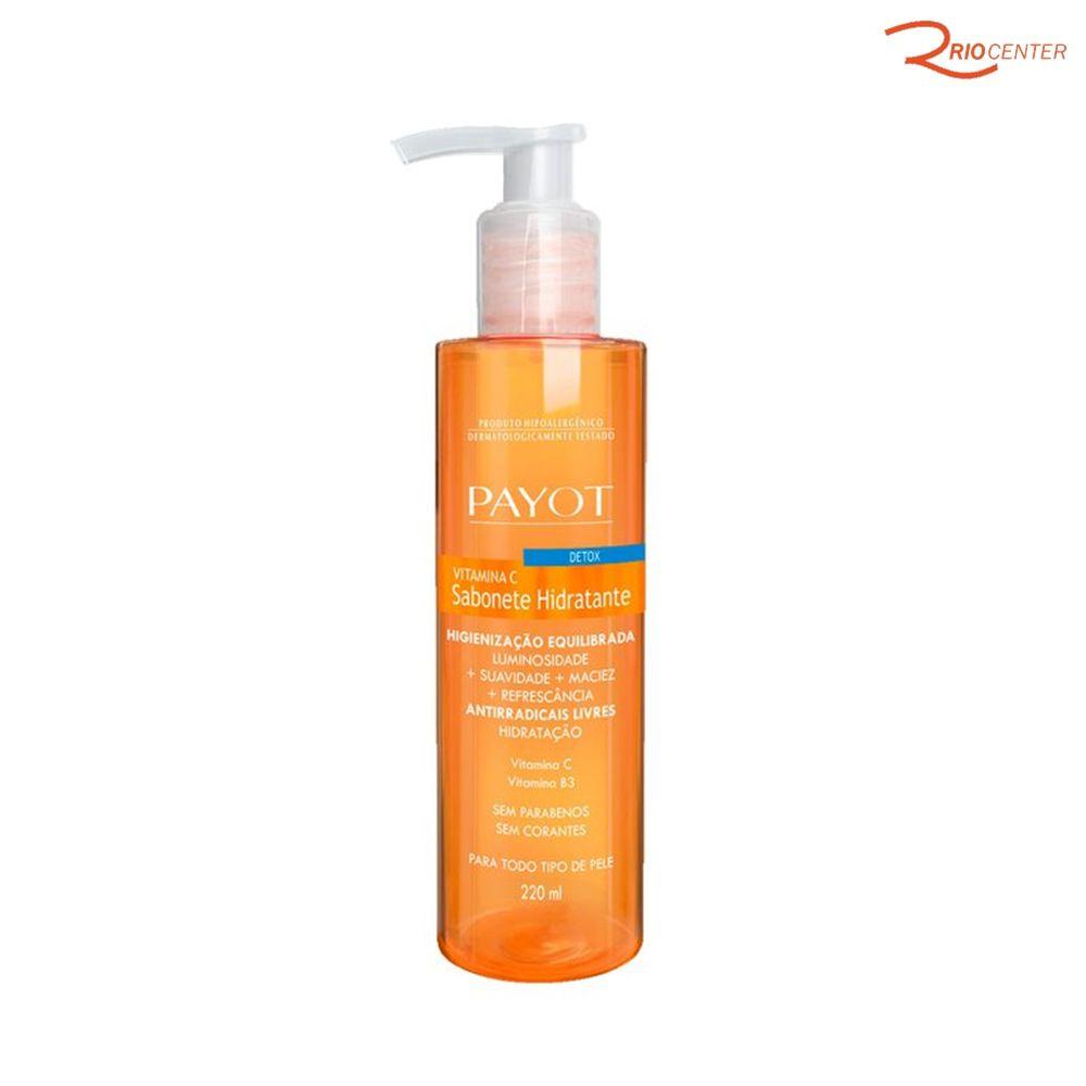 Sabonete Liquido Payot Higienizante Detox Com Vitamina C - 220ml