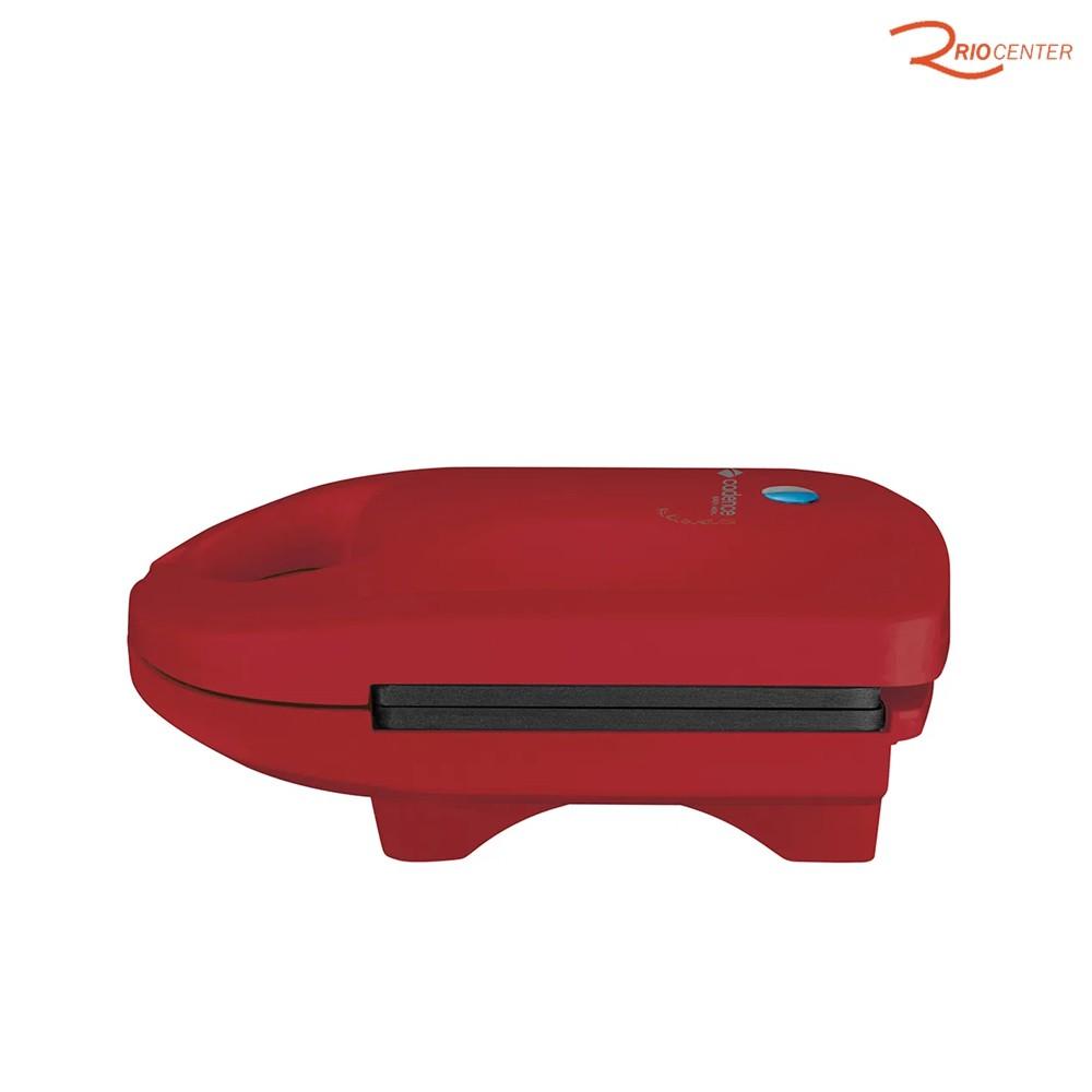 Sanduicheira Minigrill Cadence Colors Vermelha