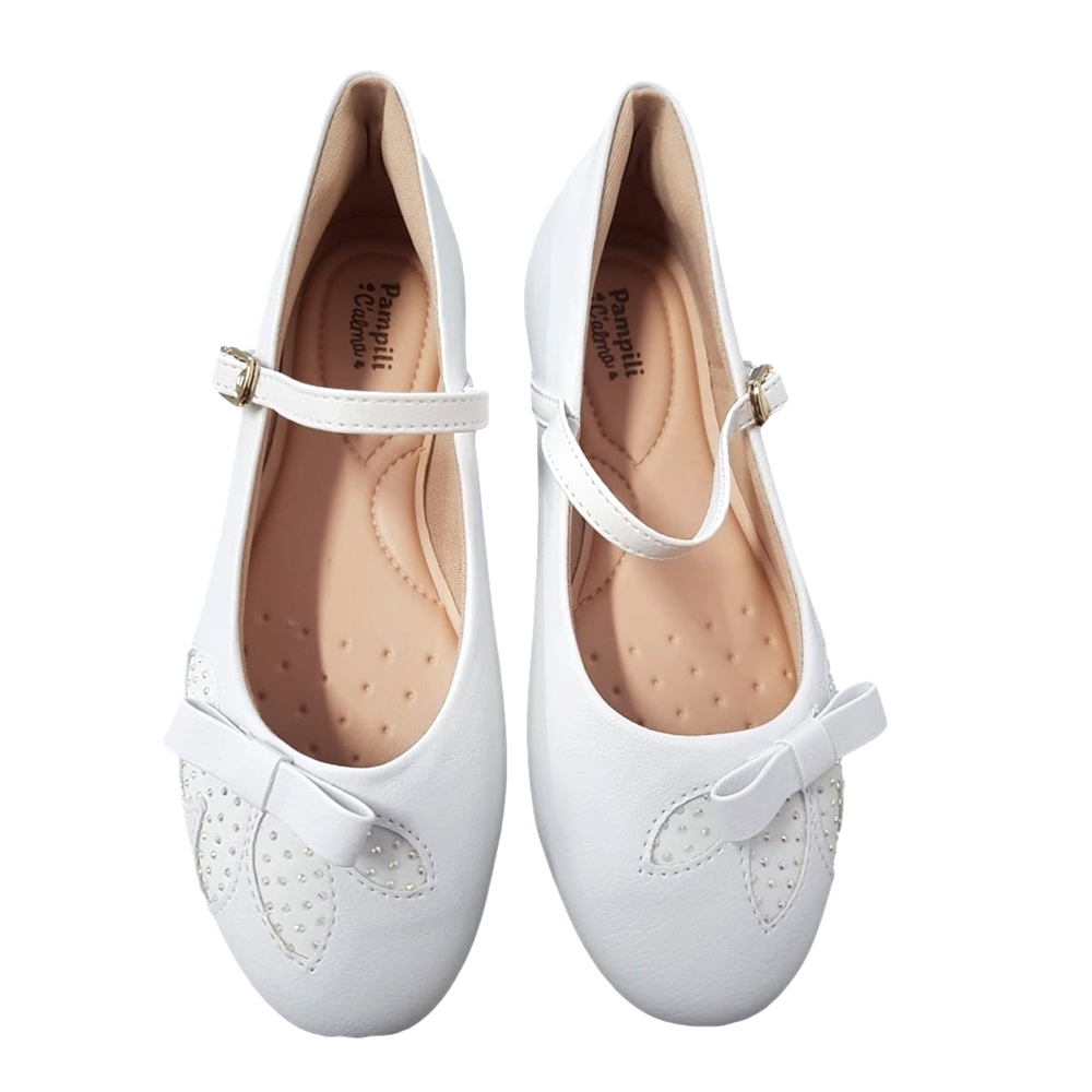 Sapato Social Sint Pampili Branco